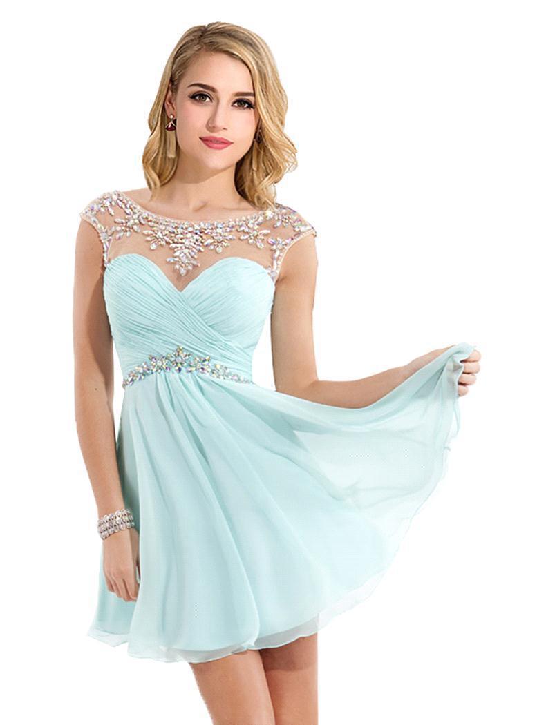 Cheap Short Evening Dresses | Beatific Bride