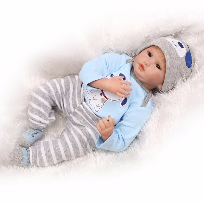 Real Baby Model 22 Inch Soft Body Realistic Doll Reborn