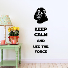 Star war movic wall stickers Home Decor bedroom Wallpaper the living room decoration(China (Mainland))