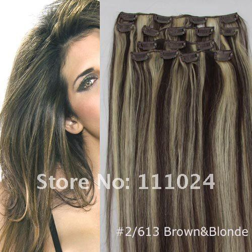 Clip In Remy Human Hair Extensions Wholesale 21