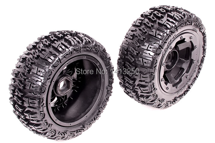 Фотография 5T Front knobby wheel set  for baja parts,free shipping