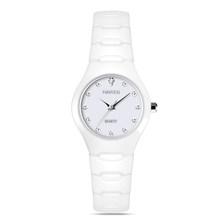 2018 HAIYES, роскошные стильные женские часы, керамические, элегантные, лучший подарок, Брендовые женские часы, повседневные, под платье, женские ...(China)