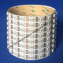 5M LED Strip Light White PCB 60led/m WS2812B WS2812 Individually Addressable SMD5050 Dream Color Pixel Waterproof DC5V - Shenzhen Lighting Professional Manufactuer store