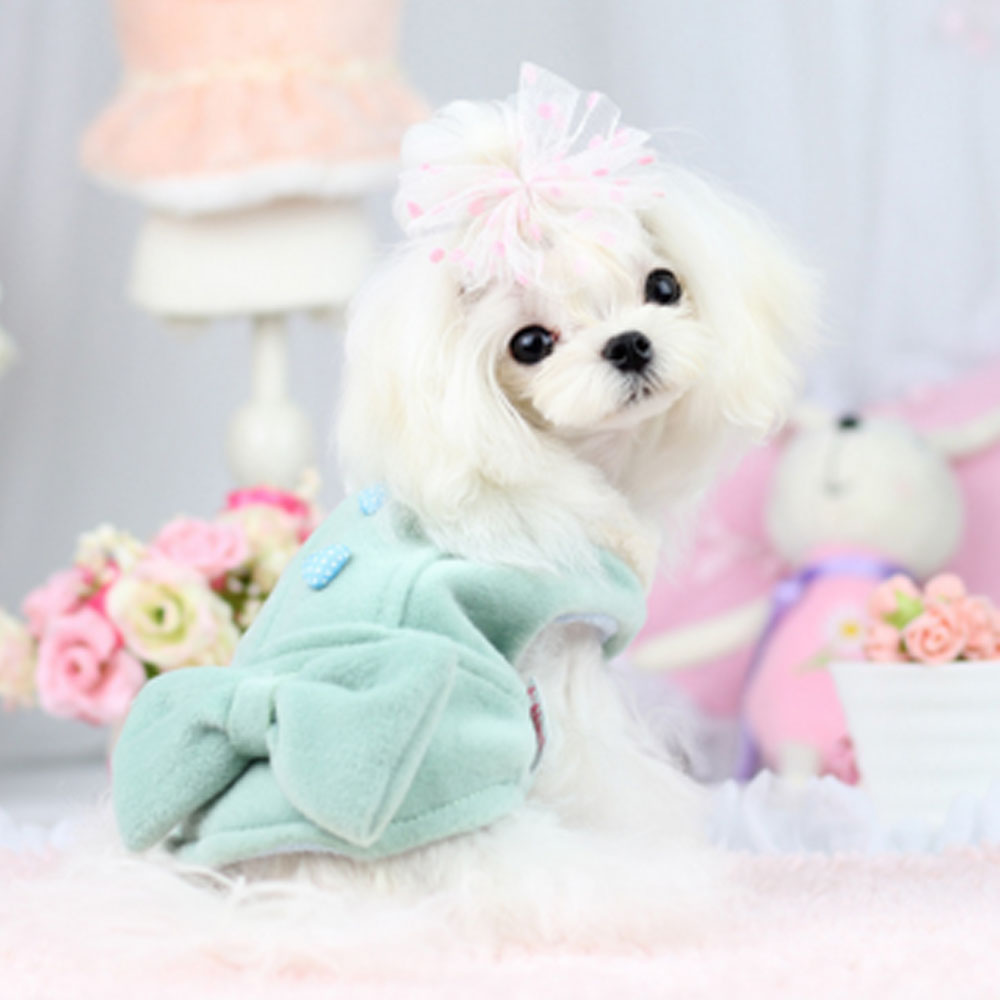 Puppy Clothes Pet Outfit Italian New Styles Covered Button Bow Tie Worsted Jackets and Coats Winter Warm Clothes Chihuahua Coats(China (Mainland))