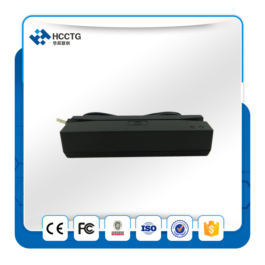 CHEAP!credit card reader and writer/mini portable/android magnetic stripe card emv reader software-HCC750U(China (Mainland))