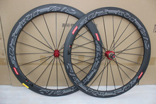 700C Racing Bicycle carbon wheels 50mm Carbon Road Bike Wheelset clincher 3K cadre carbone 23mm width, free shipping(China (Mainland))