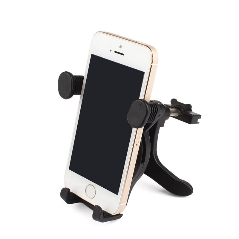 360 Degrees Universal Stand Car Holder For phone Car Air Vent Mount Holder GPS Stand For Your Mobile Phones Holders #86670(China (Mainland))