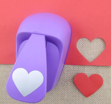 50mm furador heart Shape Super Large Shaper Punch Craft Scrapbooking Paper Puncher large Craft Punch DIY children toys S2883<br><br>Aliexpress
