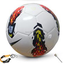 2014 New Brand Premier league soccer ball England league football Anti-slip granules football ball PU size 5 ball Free shipping(China (Mainland))
