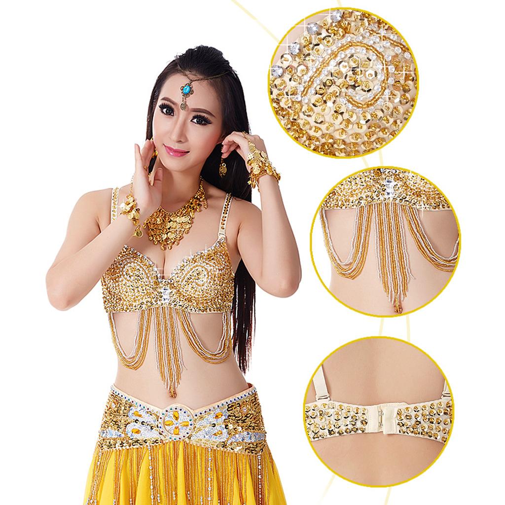 Hot Sale US New Belly Dance Hip Scarf Coin Belt Tribal Costume Fringe Tassel Belt Copper Belly Dancing Waist Belt Wrap 5 Color