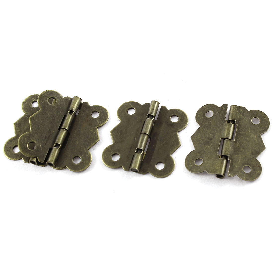 4 Pcs/lot Bronze Tone Butterfly Style DIY Repair Cabinet Drawer Door Hinge(China (Mainland))