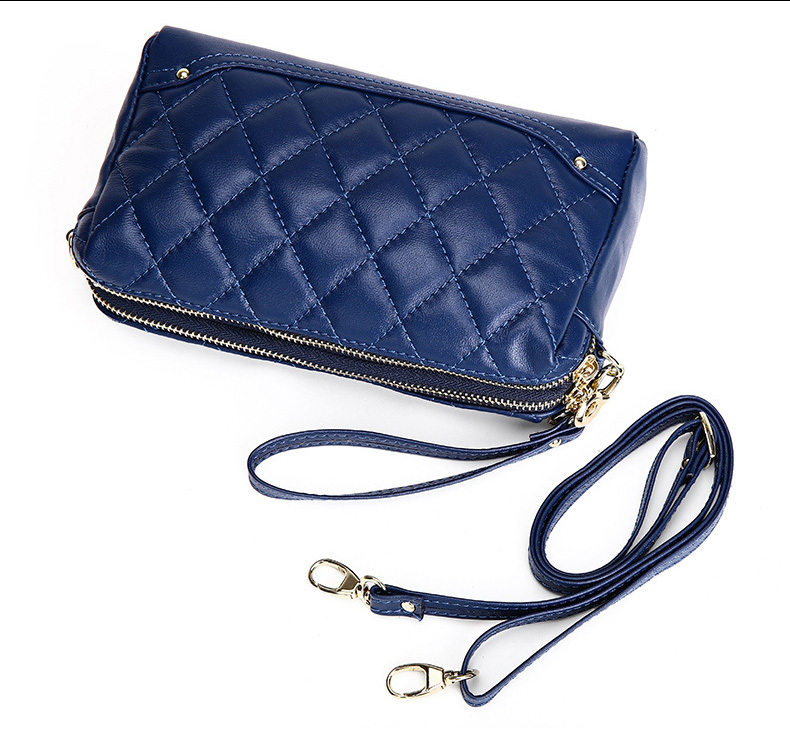 2015 New Women Handbag European And American Fashion Plaid Shoulder
