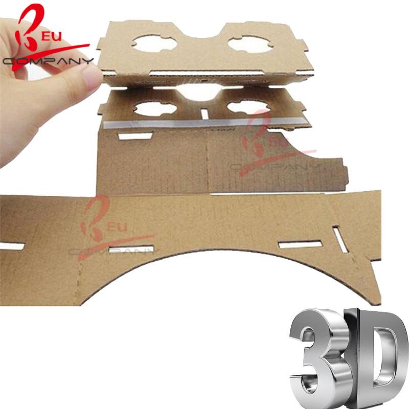how to make vr cardboard lenses