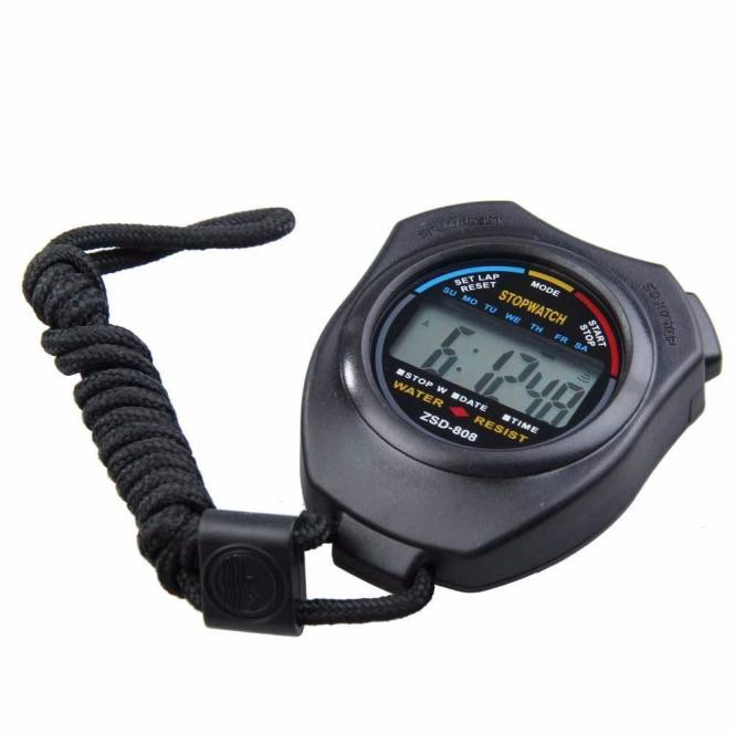 New Sport Watches Digital Professional Handheld LCD Chronograph Men Stopwatch Stop Watch Support