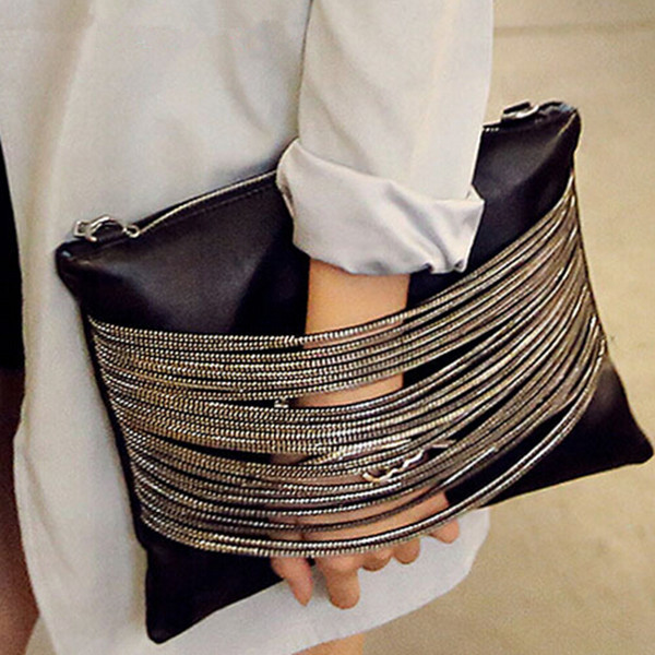 Гаджет  2015 new Vintage women leather handbag day clutch women wallets purse messenger bags in shoulder bag None Камера и Сумки