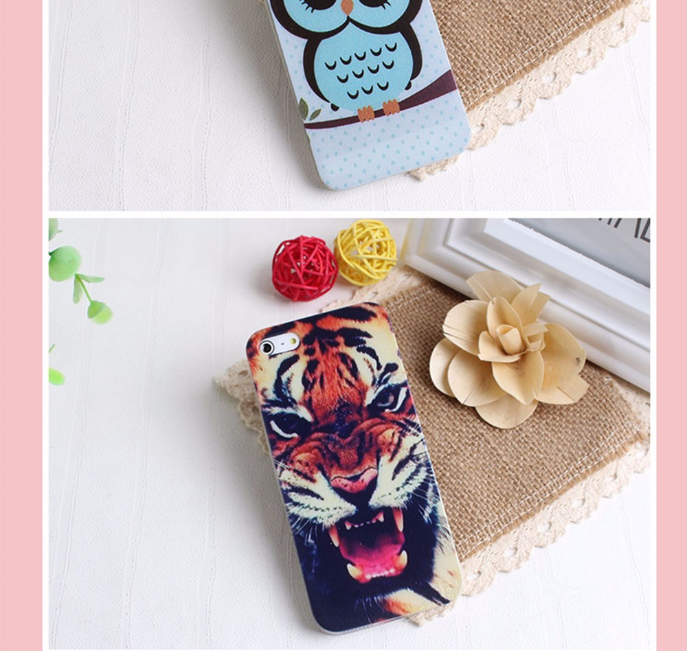 Soft TPU Silicon Mobile Phone Housings For Iphone 5 5S SE 6 6S 7 7 Plus Cases Thin Anti-knock Cases For Apple Iphone5 5S 6 7