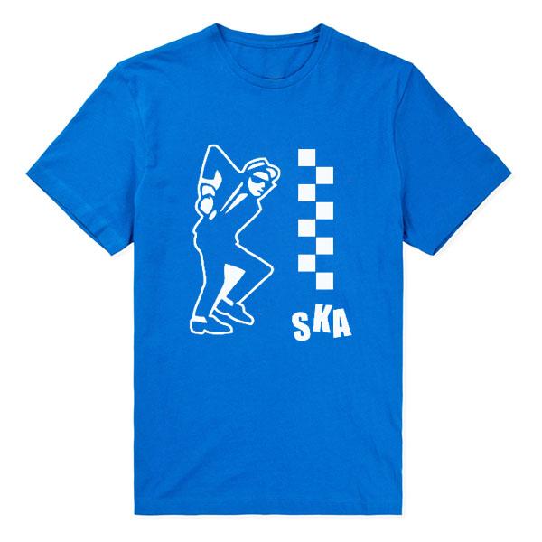 2016 new fashion summer style ska dance mens t shirt more for European mens dress shirts