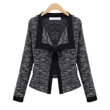 2016 Spring Women Jacket   Quality Linen Ladies Knitted Cardigans Sweater For Winter(China (Mainland))