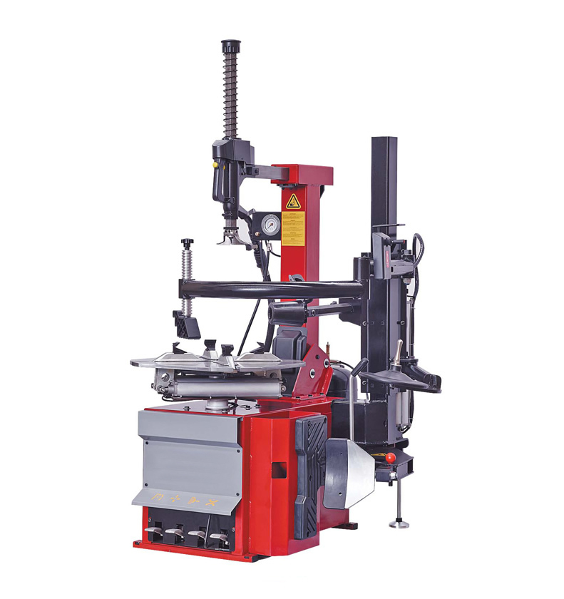 From China Professional pneumatic tilt-back post tyre changer with right help arm AOS660R(China (Mainland))