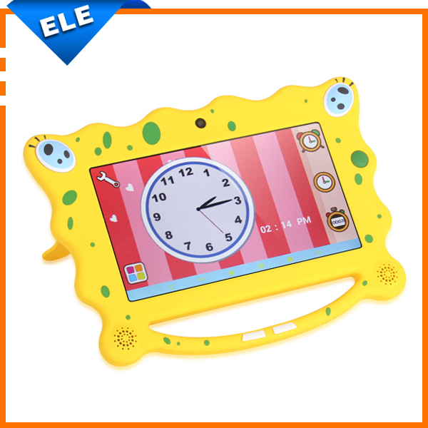 New 7 inch child Kids Tablet PC AllWinner A23 Android 4.2 Dual Core 1.5GHz 512MB RAM 8GB ROM external 3G WIFI(China (Mainland))