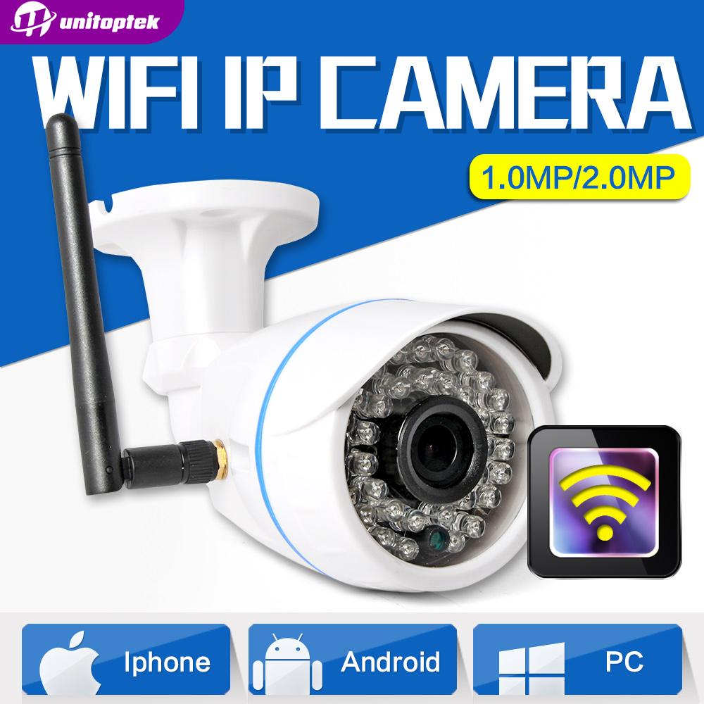HD 720P 1.0MP Wifi IP Camera Wireless Outdoor Waterproof 1080P 2MP CCTV Surveillance Smart Bullet Security Camera Onvif XMEye(China (Mainland))
