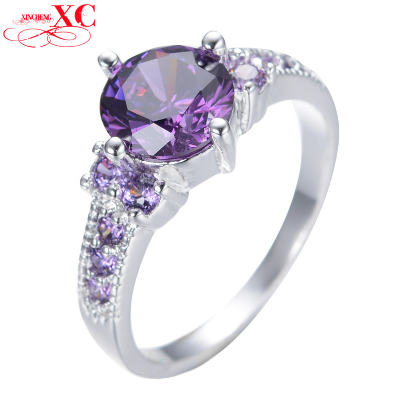 vintage amethyst sapphire jewelry fashion wedding