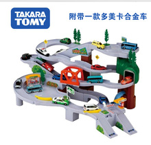 High quality! TOMICA TOMT toys Overhead Road Track toy Railway alloy cars Toy Trucks and Trailers rail road Toy car for children(China (Mainland))