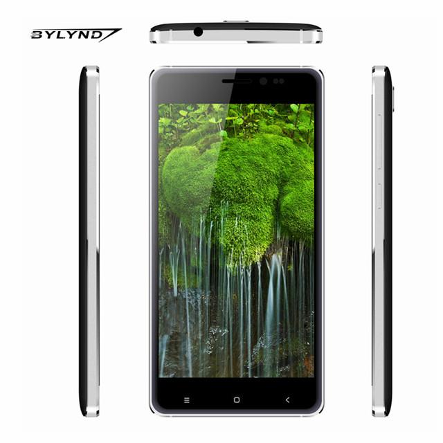 """Оригинал BYLYND М7 сотовый Android 5.1 Китай Смартфонов 1 Г RAM 8 Г ROM 8MP quad core 5.0 """"мобильные Телефоны разблокированы 1280*720 HD"""