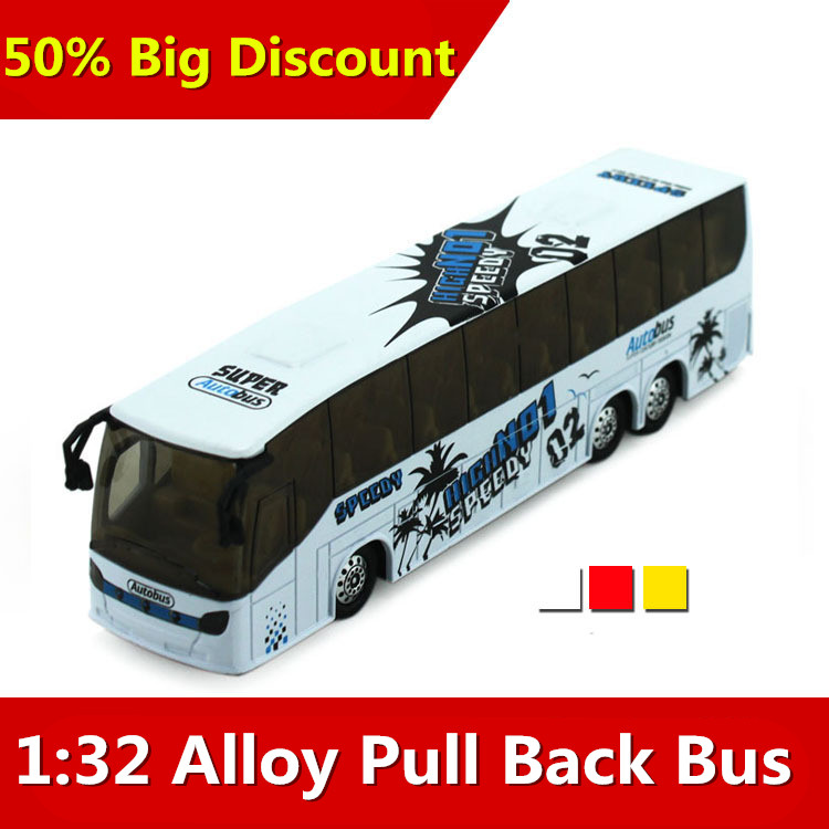 1:32 alloy big bus travel, sound and light back of the school bus models, children's toy car, free shipping...(China (Mainland))