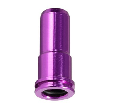 Free Shipping Air Seal SHS Nozzle For AK Series AEG CNC Aluminum Anodic oxidation hard and durable Good sealing Length 19.75mm(China (Mainland))