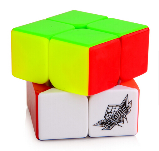 HOT 2015 Brand New MoYu YuPo 2x2 Magic Cube (50mm) 2 Layers Stickerless Speed Twist Square Cubo Magico Puzzle Educational Toy(China (Mainland))