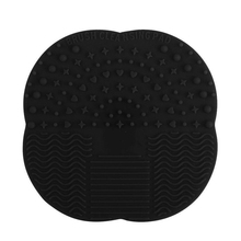 1 PC Multicolor Silicone Makeup Brush Cleaner Washing Scrubber Board Cosmetic Cleaning Mat Pad Tools