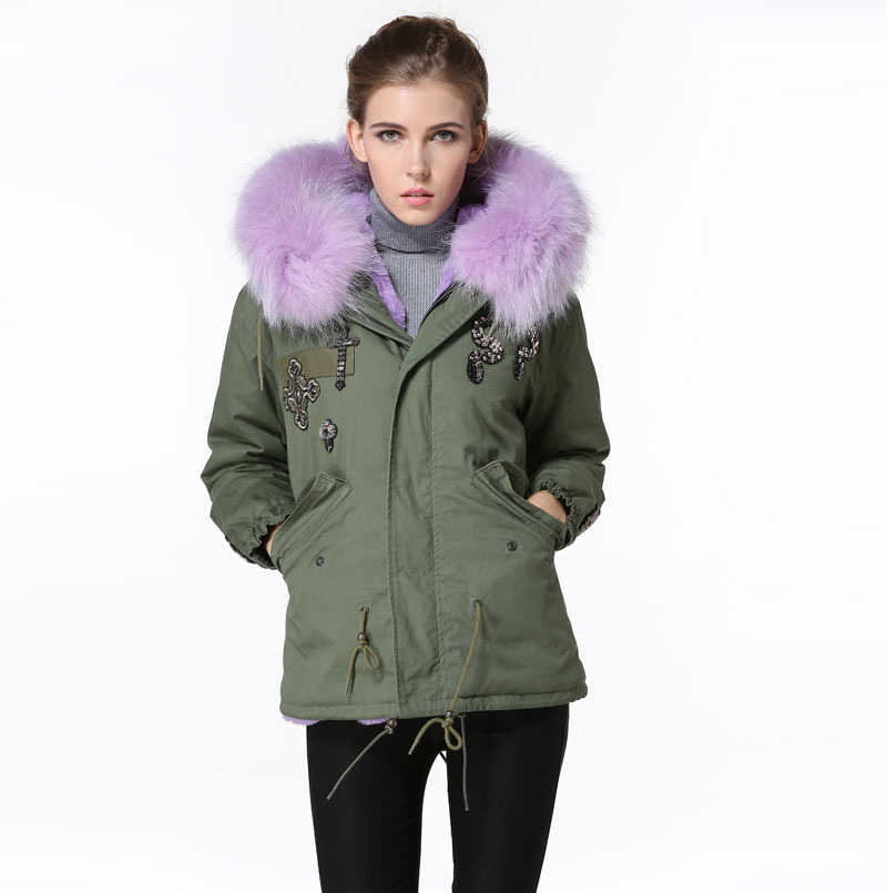Compare Prices on Green Lined Parka- Online Shopping/Buy Low Price