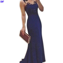 Brief Slim Maxi Dress Lace Vestidos 2015 New Women Elegant Long Party Dresses V-Neck Sleeveless Summer Dress For Wedding Wear XL