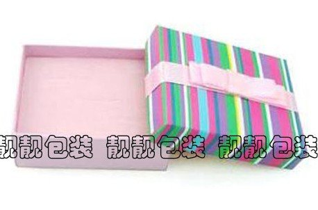 Free shipping paper material 20pcs/lot christmas gift box earring box wholesale(China (Mainland))