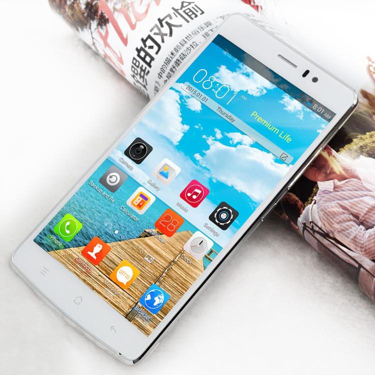 Original Smartphone 5.5'' Android 4.4.2 MTK6572 Dual Core 512+4GB Unlocked WCDMA GPS QHD 3800mAh Battery Mobile Phone(China (Mainland))