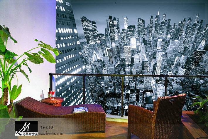 Free Shipping Mural modern wallpaper living room tv wall bedroom bed 3d wall panels modern cellophane roll(China (Mainland))