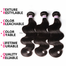 7A Malaysian Virgin Hair Human Hair Weave 3Pcs Malaysian Body Wave Shiny Hair Co Virgin Malaysian