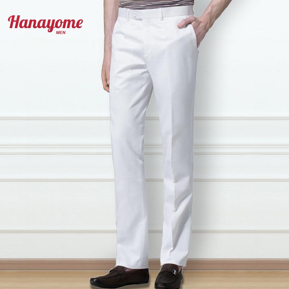 Men's Suit Pants Dress Pants Male Casual Long Trousers Slim Fit Flat Confirm Waistline Pants Royal Blue White Mens Suit P22(China (Mainland))