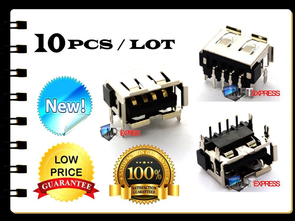 New! 10pcs/lot USB Port DC Power Jack Plug Socket Motherboard Connector Acer Aspire 5743Z Emachines E520 E525 E725 E627 E625(China (Mainland))