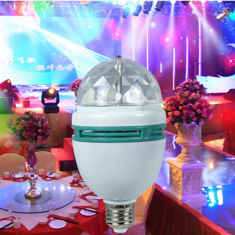 Hot sale 1PCS LED RGB bulb 3W E27 stage lighting led bulb 220V 360 degree IP44 bulb rgb lamp with long life(China (Mainland))
