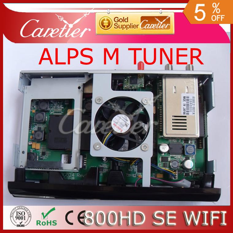 DM800 HD SE satellite TV receiver support 300M wifi sim 2.10 ALPS 801A M tuner dm800hd se wifi set top box free shipping 800SE(China (Mainland))