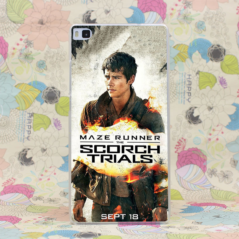 680HJ Maze Runner Scorch Trials Poster Dylan o Brien Hard Case Cover for Huawei P6 P7 P8 P9 Lite Plus Honor 6 7 4C 4X G7(China (Mainland))