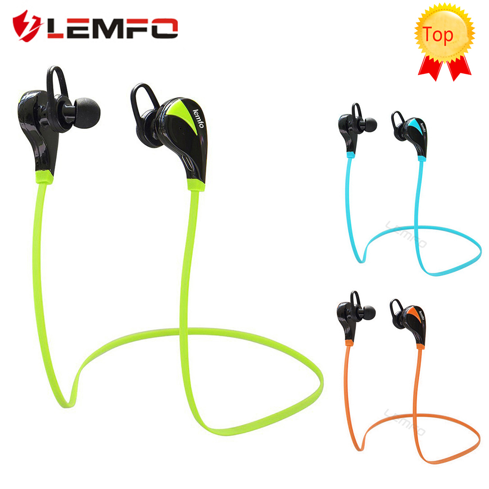 [Genuine] Lemfo G6 Bluetooth earphone Wireless Headset Stereo Sports mp3 Studio Music Handsfree Sweatproof for iPhone 6 7 phone(China (Mainland))