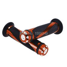 Universal 7/8 inch Motorcycles Handle Hand Grip Grips Handlebar Grips for Suzuki Honda Kawasaki Yamaha Buell Ducati Orange