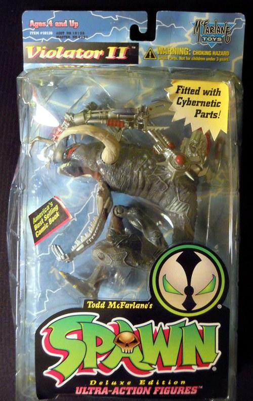 Spawn Violator II Fit with Cybernetic Parts Anime action figure classic toys for boy in original box SP0067