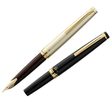 Buy L Pilot Elite 95s 14k Gold Pen EF/F/M nib Limited Version Pocket Fountain Pen Champagne Gold/Black Perfect Gift for $121.41 in AliExpress store