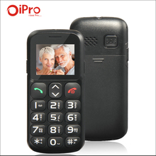 IPRO 1.77 inch GSM Unlocked Mobile Phone SOS Big Keyboard Dual SIM Cell Phones for Seniors Elderly English Spanish Russian(China (Mainland))