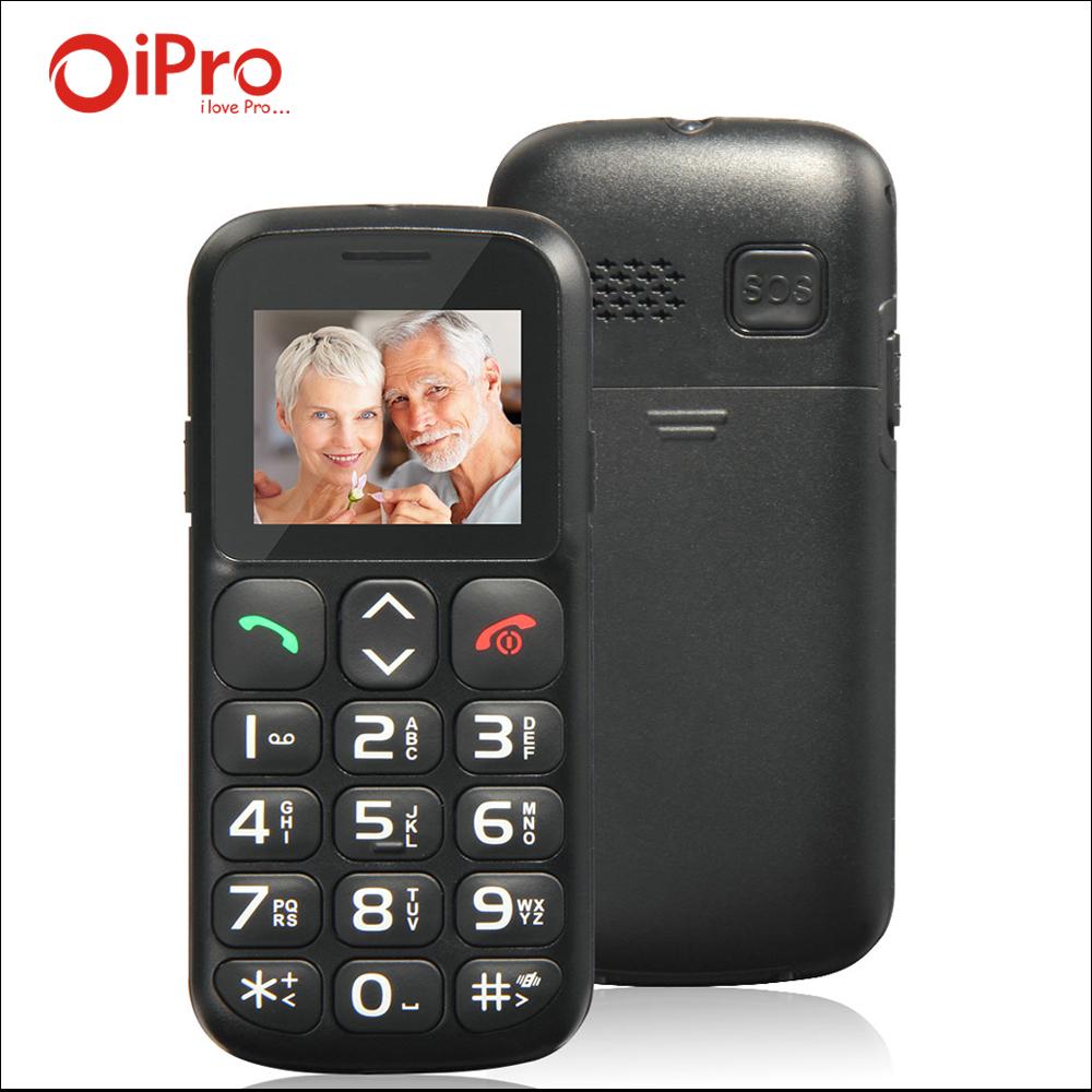 Original 1.77 inch Unlock Mobile Phone for the Elderly Big Keyboard Loud Speaker Flashlight Cell Phones English Spanish Russian(China (Mainland))