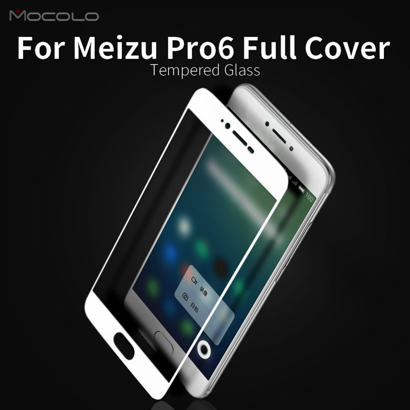 Mocolo Tempered Glass Screen Protector for Meizu Pro 6 Film Full Cover 0.33mm(China (Mainland))